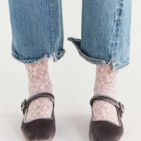 UO Velvet Mary Jane Flat | Urban Outfitters