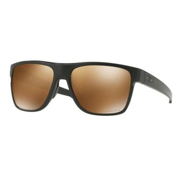 Occhiali da sole OAKLEY CROSSRANGE XL 9360-06 Matte Black Polarized