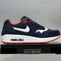 Nike WMNS Air Max 1 Print 87 Running Sport Casual Shoes Sneakers Black G-A0-HXYDXPF