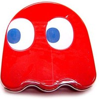 PacMan Candy Tin Blinky Ghost Sours Red