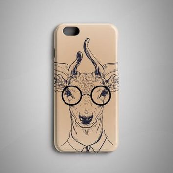 Deer Painting Hipster iPhone 7 Case iPhone 6S Case