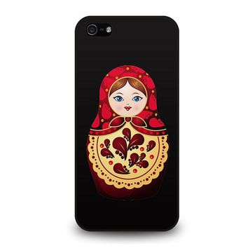 MATRYOSHKA RUSSIAN NESTING DOLLS iPhone 5 / 5S / SE Case Cover