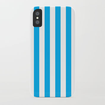 Vertical Blue Stripes by CoolFunAwesomeTime