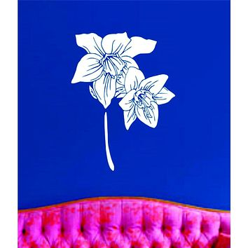 Flower Version 101 Wall Decal Sticker Wall Vinyl Mural Mary Jane Weed