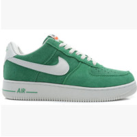 NIKE Women Men Running Sport Casual Shoes Air force low tops Green