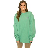 Cotton Club Pullover in Winter Sage Green by The Southern Shirt Co.