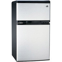 Walmart: Igloo 3.2 cu. ft. 2-Door Refrigerator and Freezer, Stainless Steel
