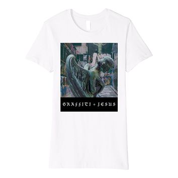 Graffiti Jesus - Crying Angel T-Shirt