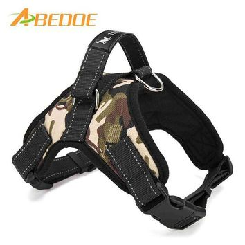 DCCKU7Q ABEDOE Large Dog Harness Padded Chest Strap Heavy Duty with Handle Comfortable for Labrador Golden Retriever Samoyed Husky Dogs