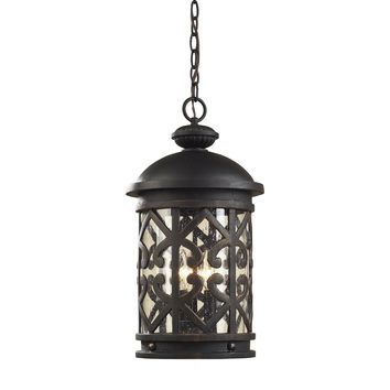 42063/3 Tuscany Coast 3 Light Lantern Pendant - Free Shipping!