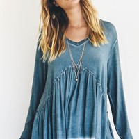 Someone I Love Lagoon Babydoll Top