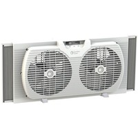 "Comfort Zone(R) CZ319WT 9"" Twin Portable Window Fan"