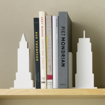Skyline Bookends - See Jane Work