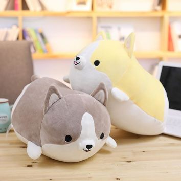 Cotton Cushions Pillow Cute Dog Shape Back Shadow Dog Kawaii Filled Animal Pillow Toys Home Textile Chrismas  Gifts