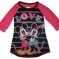 Mickey & Minnie Mouse Girls Nightgown $18.95