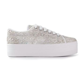 Jeffrey Campbell 'Zomg' Lace Platform Trainers