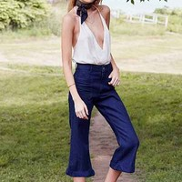 Urban Renewal Recycled Cropped Sailor Jean - Urban Outfitters