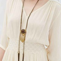 Bolo Statement Necklace- Gold One