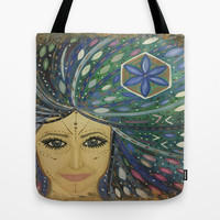 Consciousness in you Tote Bag by Cyndi Sabido