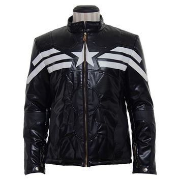 The Avengers Captain America Jacket Coat Costumes Custom Made