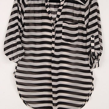 Kate Striped Tunic