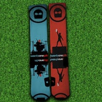21 Pilots Socks,Custom socks,Personalized socks,Elite socks