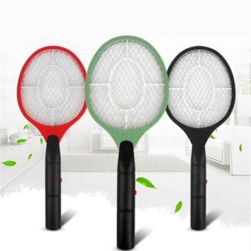 Hand Racket Electric Mosquito Killer Swatter Insect Home Garden Pest Bug Fly Mosquito Zapper Swatter Killer