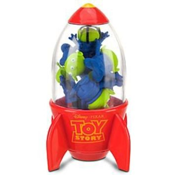 Toy Story Space Alien Eraser Rocket Set | Disney Store