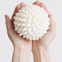 "Seashell Sphere Beach Wedding Decorations - 4"" Wide"