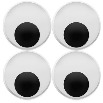 "Pack of 8 XL 4"" Wiggly Googly Eyes"