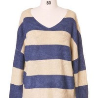 Simplicity in Stripes Sweater - Retro, Indie and Unique Fashion