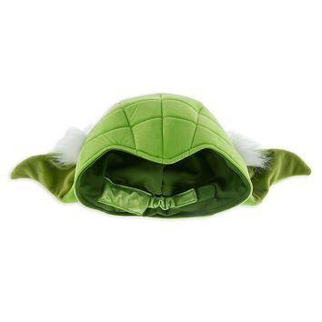 Licensed cool Disney Store Star Wars ADULT YODA Ears Hat Cap Jedi Master Costume Cosplay NWT