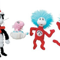 Manhattan Toy Dr. Seuss Cat in the Hat Finger Puppet Boxed Set