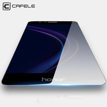 CAFELE HD Clear for huawei honor 8 Screen Protector 9H Ultra Thin Anti Glare Protective Film Tempered Glass for huawei honor 8