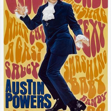 Austin Powers: International Man of Mystery 27x40 Movie Poster (1997)