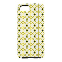 Heather Dutton Annika Diamond Citron Cell Phone Case