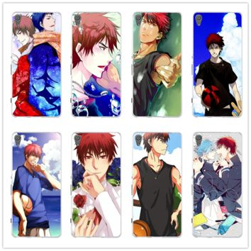 Soft TPU Transparent Phone Cases for Sony Xperia M2 M4 M5 XA E3 E5 T3 Z Z1 Z2 Z3 Z4 Z5 Compact Kagami Kuroko No Basket