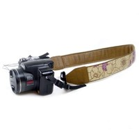JAVOedge DSLR Poppy Camera Strap (Purple)