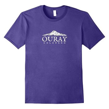 Ouray Colorado T-Shirt- Colorado Mountain T-Shirt