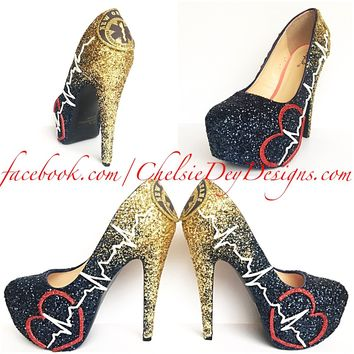 7902ef3f17a1e Best Sparkly Heels Products on Wanelo