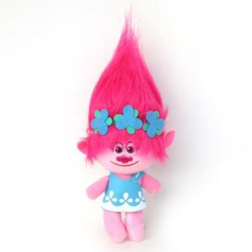 3 Sizes Fast Delivery Dreamworks Movie Trolls Toy Plush Trolls Poppy Trolls Figures Magic Fairy Hair Wizard Kids Toys