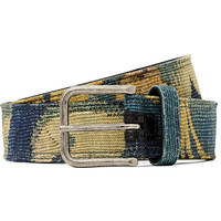 Dries Van Noten - 3.5cm Leather-Backed Printed Canvas Belt