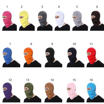 CAR-partment Outdoor Sports Neck Face Mask Winter Warm Ski Snowboard Wind Cap Police Cycling Balaclavas Motorcycle Face Mask