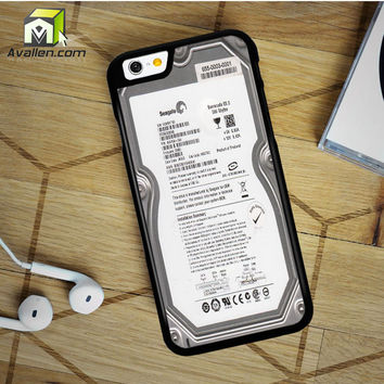 Hard Drive without Casing iPhone 6 Plus case by Avallen