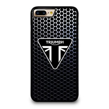 triumph motorcycle logo iphone 4 4s 5 5s se 5c 6 6s 7 8 plus x case  number 1