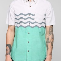 Vans Wave Stripe Button-Down Shirt - Urban Outfitters