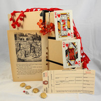 Scrapbook MINI kit with new vintage and handmade by ScrappyDoodads