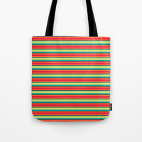 Candy Lines Tote Bag by Titus Ruiz