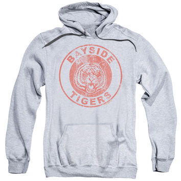 SAVED BY THE BELL/TIGERS-ADULT PULL-OVER HOODIE-ATHLETIC HEATHER
