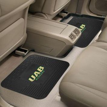 "NCAA -  UAB 2-pc Utility Car Mat 14""x17"""